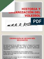 Historia y Organización Del Voleibol Laredes