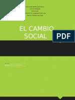 El cambio  Social.ppt