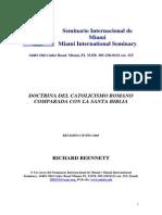 Doctrina Del Catolicismo Romano Comparado Con La Santa Biblia - Richard Bennett - Libro