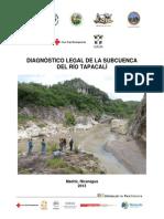 Diagnostico Legal, subcuenca del Río Tapacalí, Madriz, Nicaragua