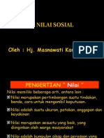 Nilai Sosial