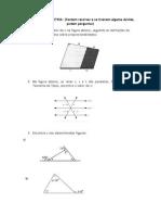 EXERCÍCIOS Básicos de Geometria