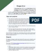 Dengue Fever (DHF)