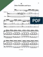 J. S. Bach - 8 pequeños preludios -