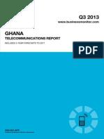BMI Ghana Telecommunications Report Q3 2013[1] 22145049