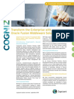 Transforming Your Enterprise With Oracle Fusion Middleware Solutions