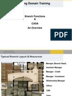 Branch Functions & CASA RSRao BFS Consultant