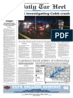 The Daily Tar Heel for March 5, 2015