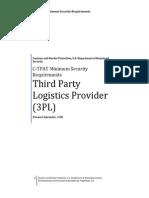 C-TPAT Minimum Security Requirements with compliance Plan | Prep4Audit