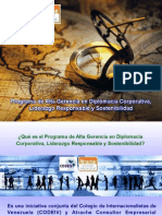 Programa de Alta Gerencia (PAG) en Diplomacia Corporativa