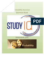 PDF StudyIQ Probability Question Bank for bank po and ssc cgl/ldc/mts
