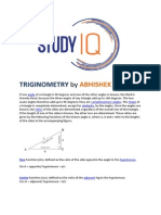 Triginometry by Abhishek Jain for SSC exams