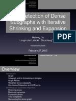 Shrinking and Expansion Algorithm Presentation