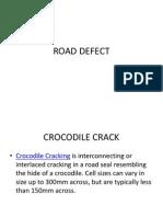 Road Defect
