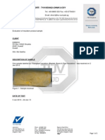 Specific Compounds Test Report- Asbestos- PSB