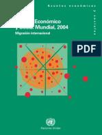 Estudio Economico y Social Mundial Naciones Unidas 2004