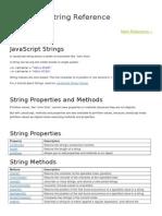 JavaScript String Reference N NUMBER