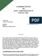 Design of the Vortex Tube100124