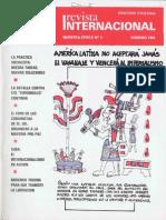 Revista Internacional-Nuestra Época-febrero de 1984 Edición Chilena