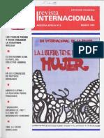 Revista Internacional-Nuestra Época Marzo de 1984 Edición Chilena