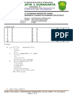 Kunci Uas Gasal Kelas x Math Minat Tp 20142015
