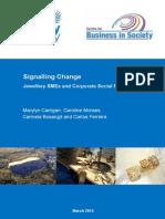 Signalling Change