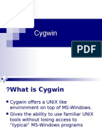 Tutorial Cygwin Updated 2014