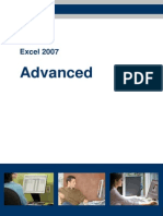 Excel2007 Advanced