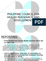 Philippine Council for Health Reasearch and Development