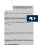 Ethical and Societal Dimensions