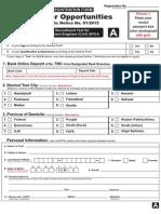 Career Op 15Feb2015 Form A