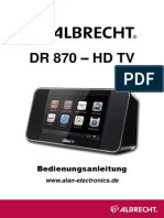 Albrecht DR 870 - HD TV