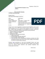 Surat Permohonan Co-op Chevron