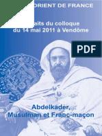 Extraits Du Colloque de Vendome 14-05-2011