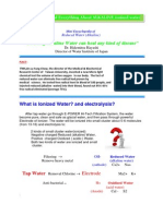 Anything and Everything About ALKALINE Ionized Water