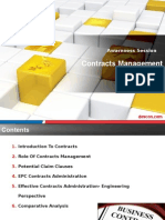 Contracts Managemnet