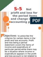 Accounting Standard 5-8