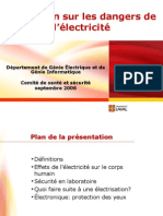 Formation Dangers Electricite A2006