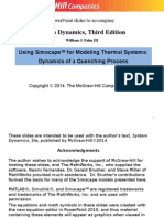 Thermal Systems With Simscape