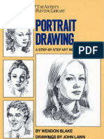 Wendon Blake - Portrait Drawing a Step-By-step Art Instruction Book