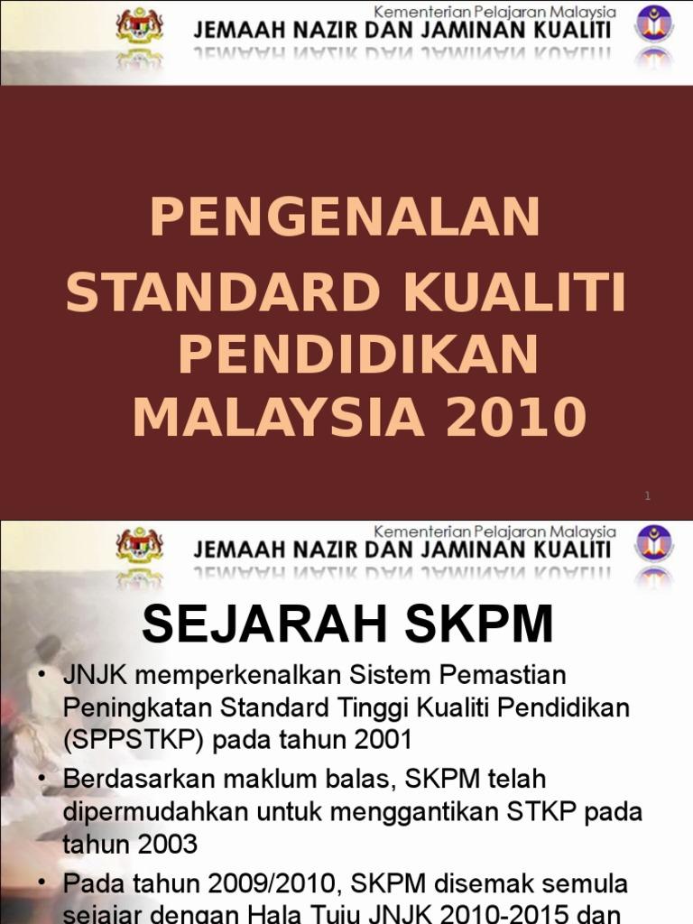 Pengenalan Skpm 2010 Ppt