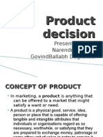 Product Decision All Chapter