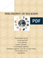 Philosophy of Religion Wand e