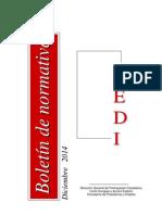 109439-Boletín Normativa Diciembre 2014 - CEDI