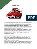 Kupas Tuntas Transmisi Matic Mobil