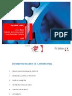 Informe Final Línea Base Cultura de La Innovación 2008