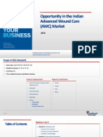 Opportunity in the Indian Advanced Wound Care (AWC) Market_Feedback OTS_2015