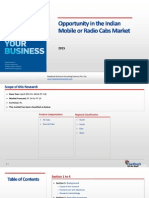 Opportunity in the Indian Mobile or Radio Cabs Market _Feedback OTS_2015