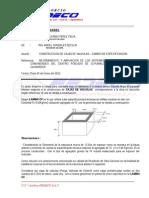 Informe de Cambio de Especificacion
