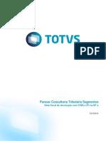 Parecer Consultoria Tributária Segmentos - TIASFZ - Nota Fiscal de Devolução Com ICMS e IPI Na NF-e
